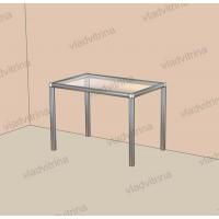 Столик со стеклянным верхом, 700х450х500