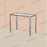 Столик со стеклянным верхом, 900х450х700
