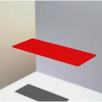 Полка ЛДСП, 16 мм, 2 размера (красный)