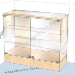 Прилавок на подиуме, 1000х400х850