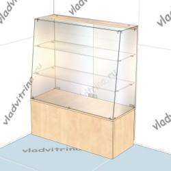 Прилавок с наклонным фасадом (бакалейный), 800х400х1200