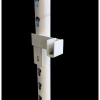 Кронштейн для трубы 15х30 mm  с выступом на 100 мм
