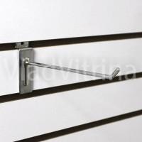 Крючок в эконом панель (Ø 5 мм) 100 мм