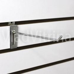 Крючок в эконом панель (Ø 5 мм) 250 мм