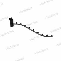 Кронштейн для одежды в эконом-панель L=400mm