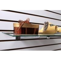 Кронштейн для полки (стекло)  в эконом-панель L=350