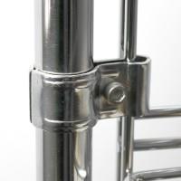 Соединение для сетки на трубу