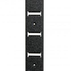 Эко-стойка металлическая (чёрный шёлк) - ограниченная серия