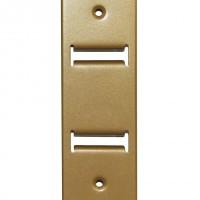 Эко-стойка металлическая (золото) - ограниченная серия