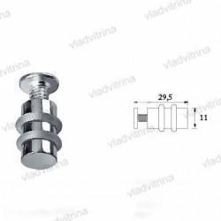 Полкодержатель для стекла односторонний (d=11 мм)