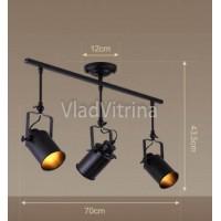 Потолочный светильник на 3 лампы