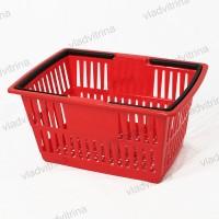Корзина покупательская, пластиковая