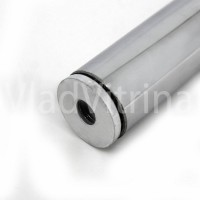 Заглушка с резьбой, для трубы d=25 мм.